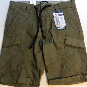 NWT Levi's Denizen Shorts Cargo Olive Green  32